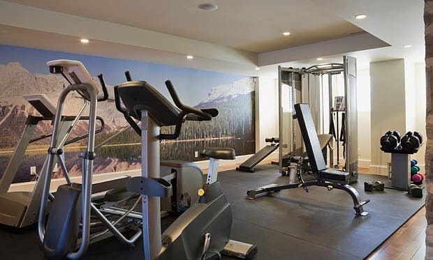 Dom c posilovna bydletmodern cz for How to create a home gym