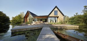 Architekti postavili luxusní sídlo pro své děti