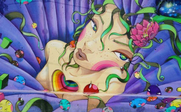 Graffiti jako moderní bytová dekorace? Proč ne!